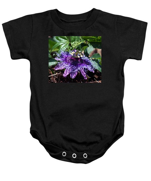 The Passion Flower Baby Onesie