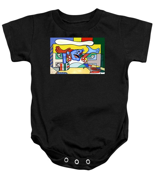 The Pizza Guy Baby Onesie