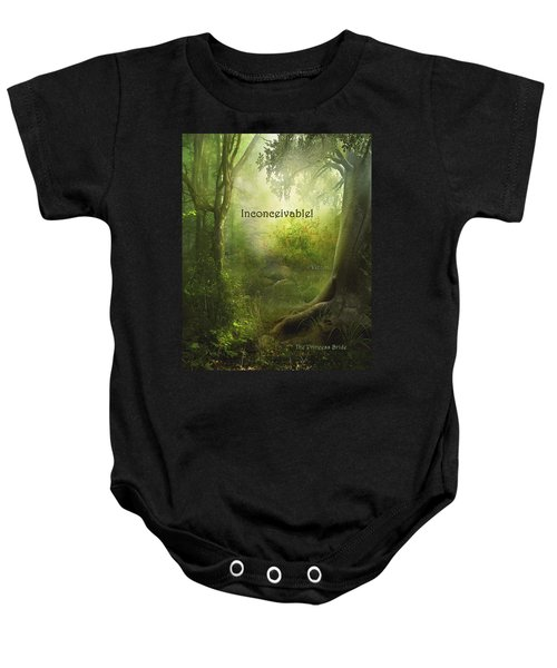 The Princess Bride - Inconceivable Baby Onesie