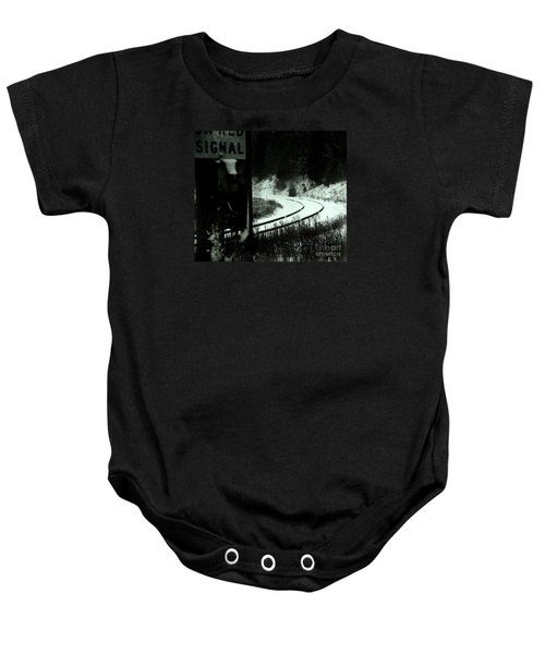 The Rail To Anywhere Baby Onesie