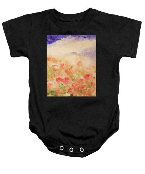 The Rose Bush Baby Onesie
