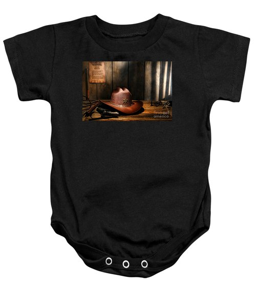 The Sheriff Office Baby Onesie