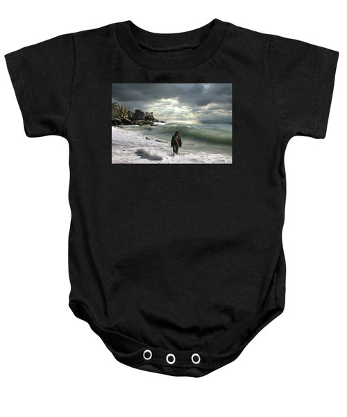The Son Is The Radiance Of God's Glory Baby Onesie