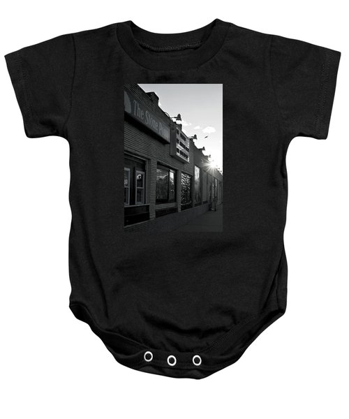 The Stone Pony Asbury Park Side View Baby Onesie