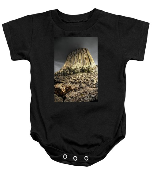 The Tower Of Boulders Baby Onesie