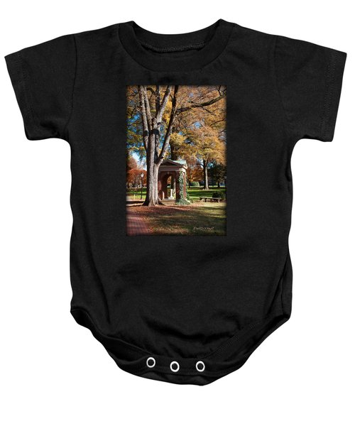 The Well - Davidson College Baby Onesie