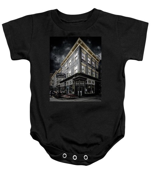 The White Horse Tavern Baby Onesie