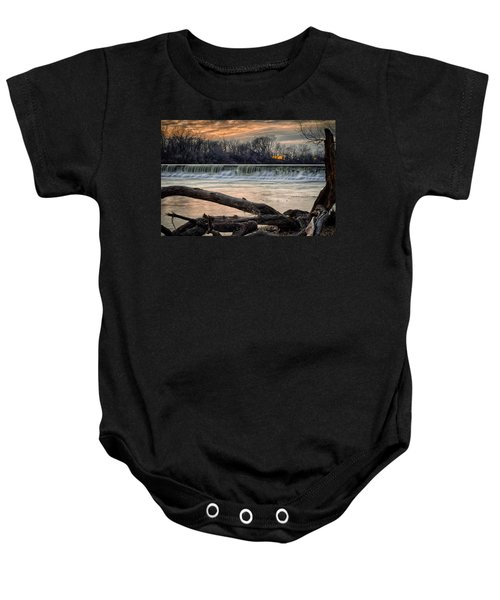 The White River Baby Onesie