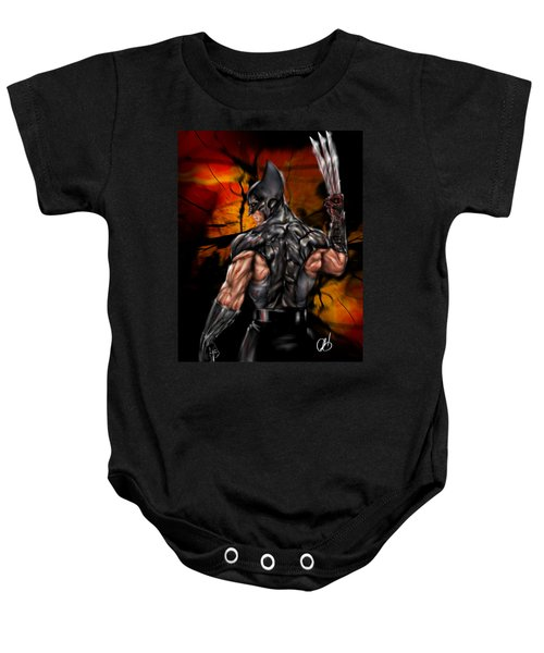 The Wolverine Baby Onesie
