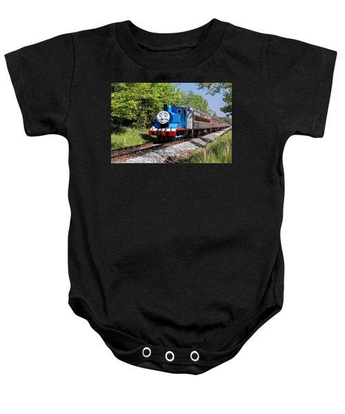 Thomas Visits The Cvnp Baby Onesie