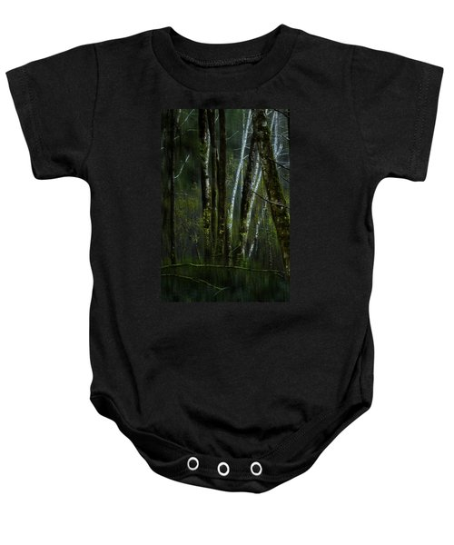 Through A Glass . . . Darkly Baby Onesie
