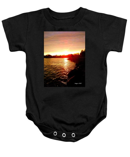 Thunder Bay Sunset Baby Onesie