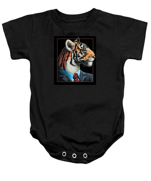 Tigerman Baby Onesie