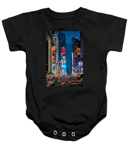 Times Square I Baby Onesie