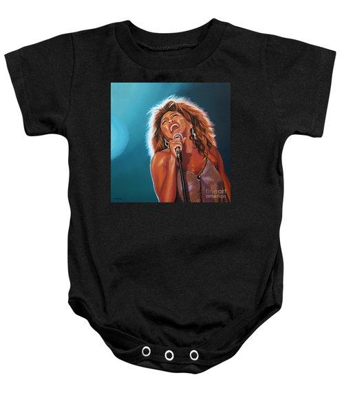 Tina Turner 3 Baby Onesie