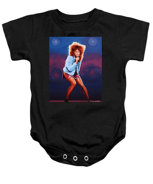 Tina Turner Baby Onesie by Paul Meijering