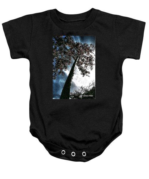 Tippy Top Tree II Art Baby Onesie