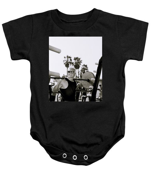 Tom Platz In Los Angeles Baby Onesie