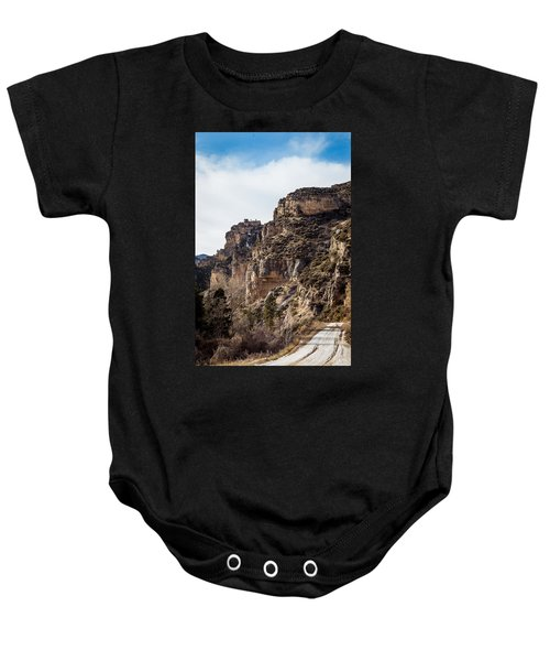 Tongue River Canyon Baby Onesie