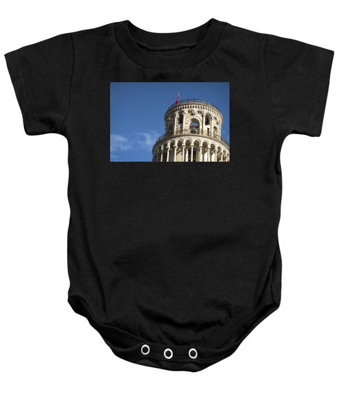 Top Of The Leaning Tower Of Pisa Baby Onesie