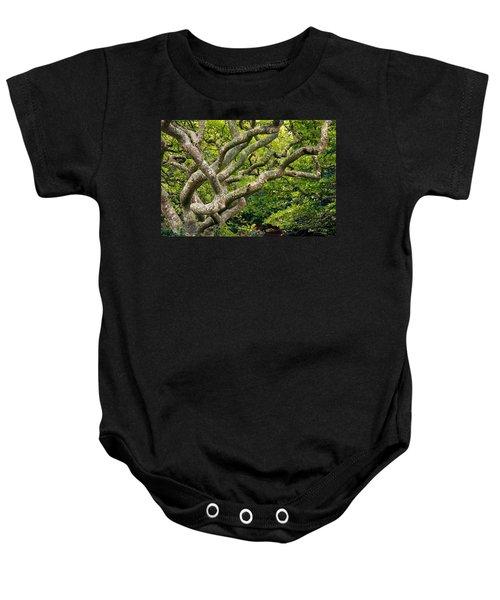 Tree #1 Baby Onesie