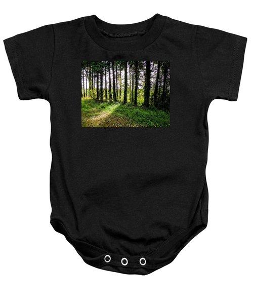 Trees On The Shannon Estuary Baby Onesie