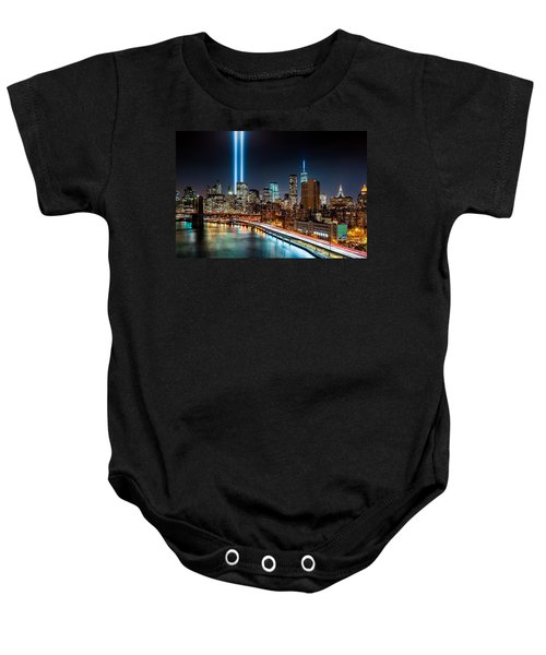 Tribute In Light Memorial Baby Onesie