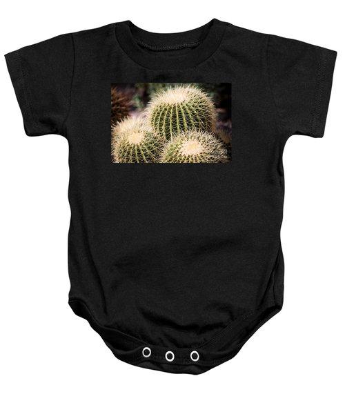 Triple Cactus Baby Onesie