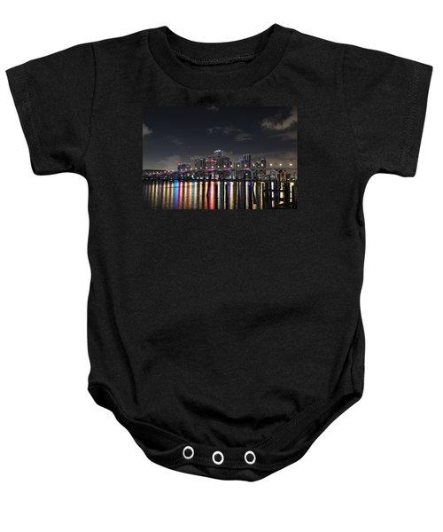 Trooper Bridge Miami Baby Onesie