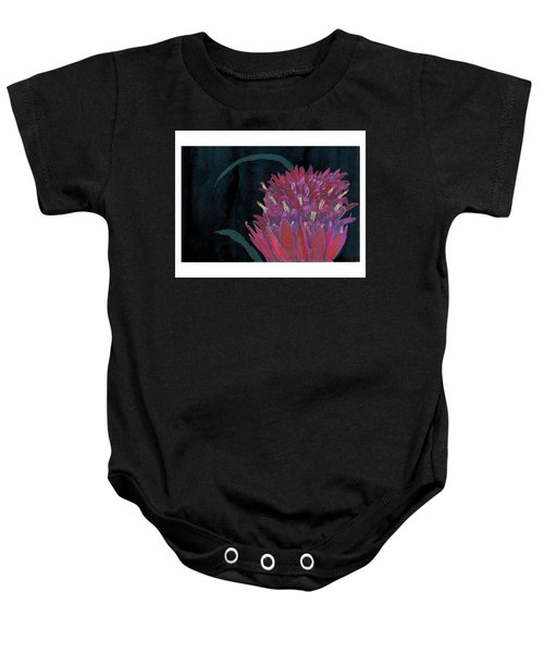 Tropical Flower Baby Onesie
