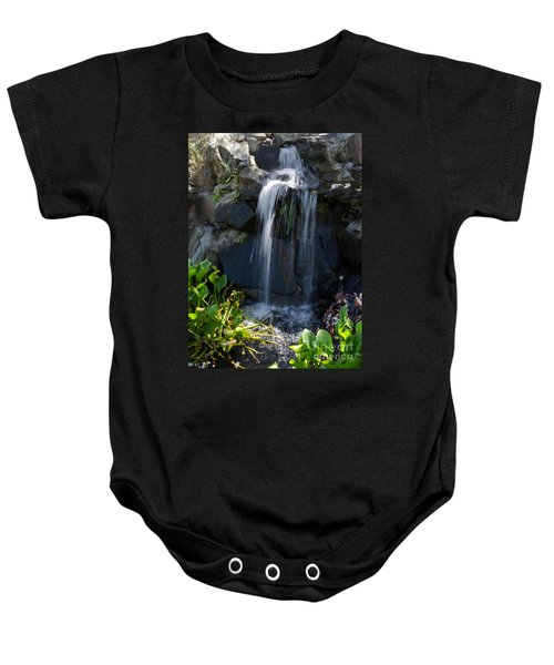 Tropical Waterfall  Baby Onesie