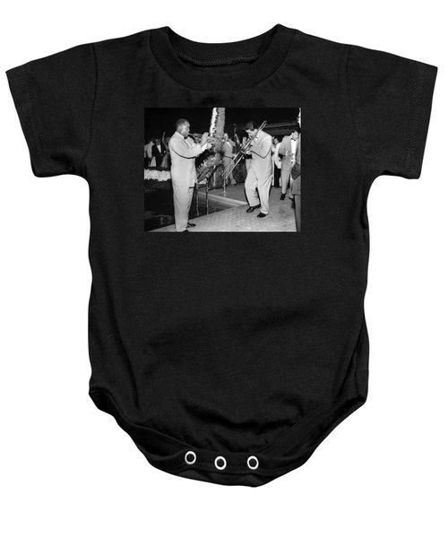 Trumpeter Louis Armstrong Baby Onesie