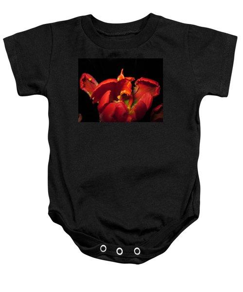 Tulipmelancholy Baby Onesie