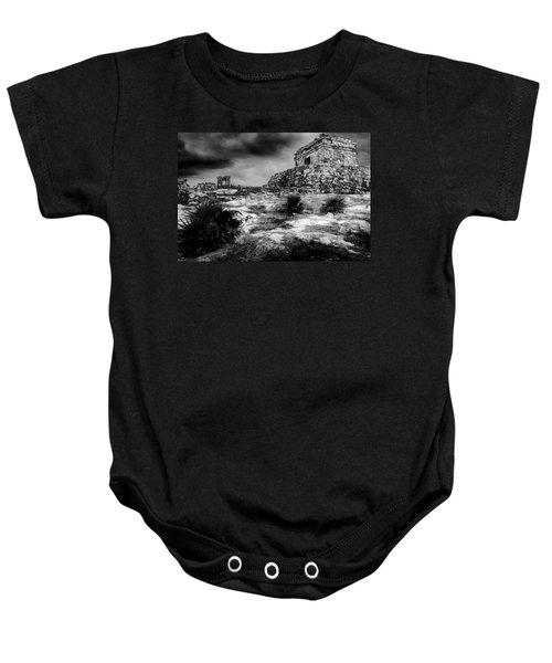 Tulum Ruin Baby Onesie