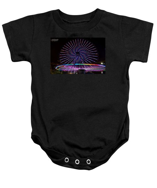 Two Carousels  Baby Onesie