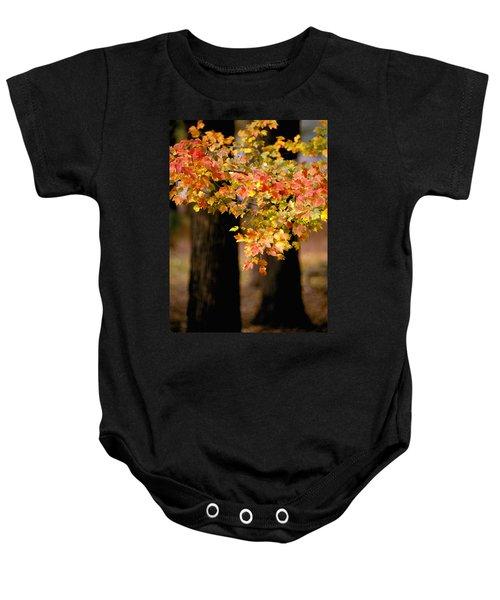 Two Trees Baby Onesie