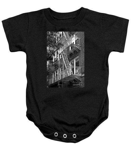 Typical Building Of Brooklyn Heights - Brooklyn - New York City Baby Onesie