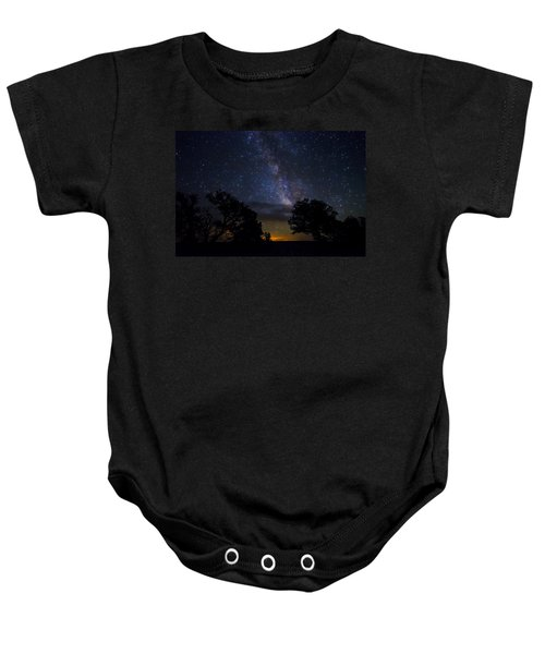 Under The Stars At The Grand Canyon  Baby Onesie