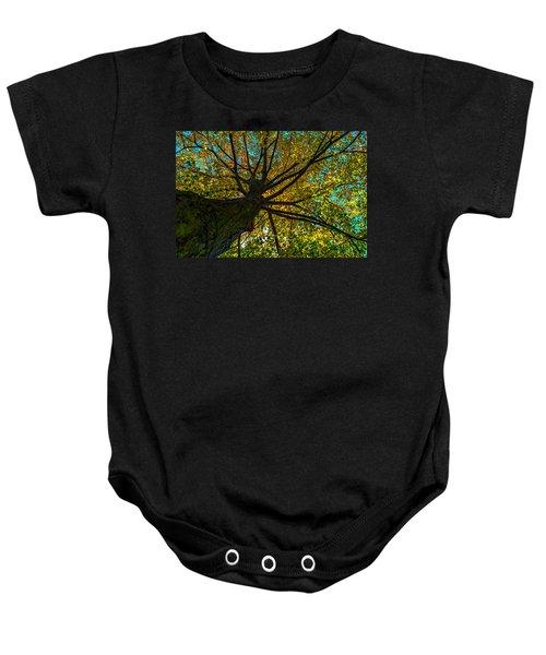 Under The Tree S Skirt Baby Onesie