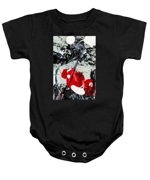 Untitled Number Two  Baby Onesie