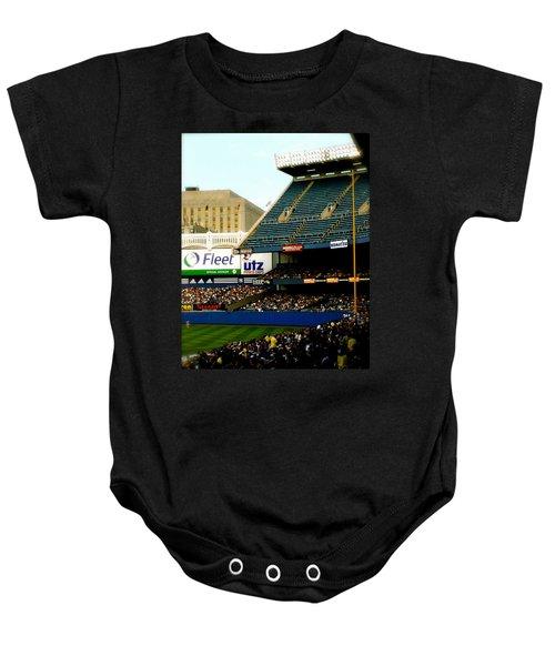 Upper Deck  The Yankee Stadium Baby Onesie
