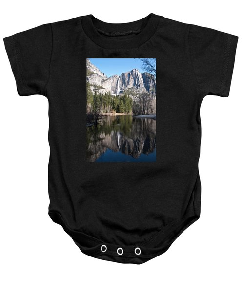 Baby Onesie featuring the photograph Upper Yosemite Fall by Shane Kelly