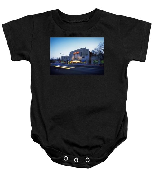 Uptown Theatre In Washington Dc Baby Onesie