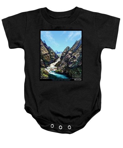 Valley Of The Absurd Baby Onesie