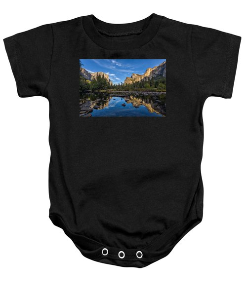 Valley View I Baby Onesie by Peter Tellone