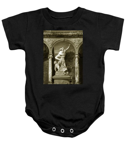 Versailles Colonnade And Sculpture Baby Onesie