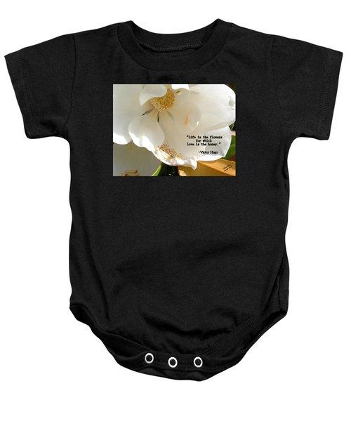 Victor Hugo 2 Baby Onesie