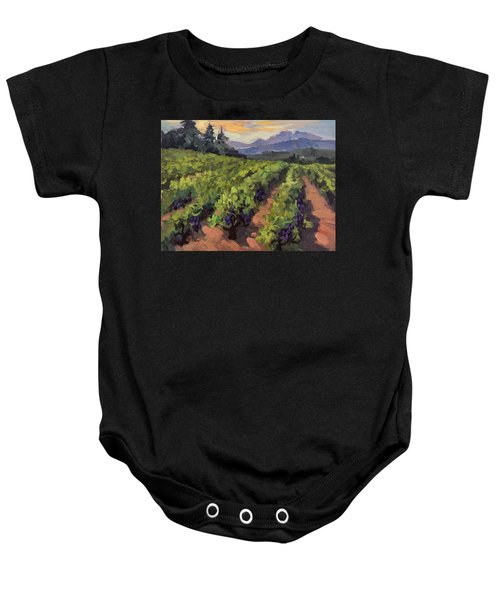 Vineyard At Dentelles Baby Onesie