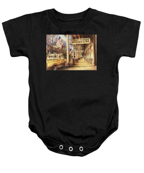 Virginia City Nevada - Western Art Painting Baby Onesie