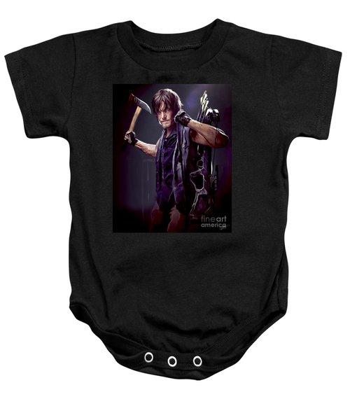 Walking Dead - Daryl Dixon Baby Onesie
